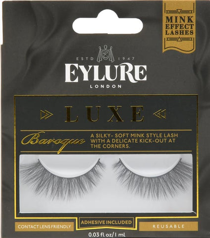 Eylure Luxe Collection faux Minx Baroque Lashes - Nails Plus Depot