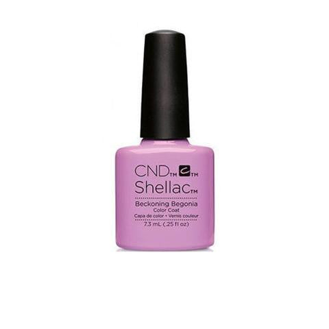 CND SHELLAC - BECKONING BEGONIA .25 OZ. - Nails Plus Depot