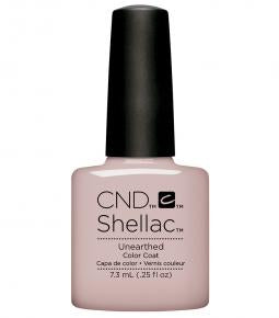 CND SHELLAC - NUDE THE COLLECTION - UNEARTHED  0.25 OZ. - Nails Plus Depot