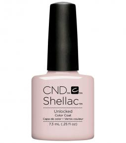 CND SHELLAC - NUDE THE COLLECTION - UNLOCKED  0.25 OZ. - Nails Plus Depot