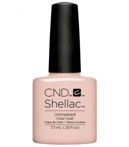 CND SHELLAC - NUDE THE COLLECTION - UNMASKED  0.25 OZ. - Nails Plus Depot