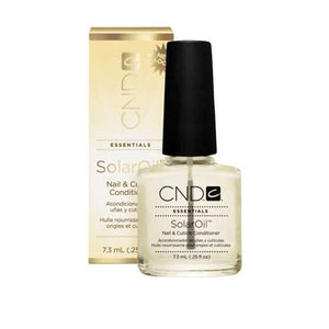 CND  -SOLAR OIL NAIL & CUTICLE CONDITIONER  .5 OZ. - Nails Plus Depot