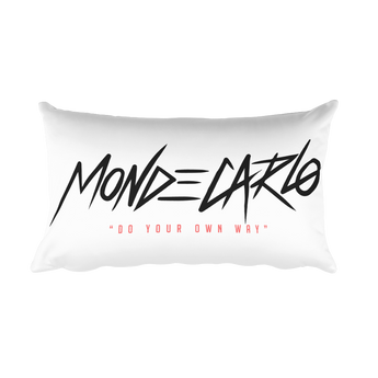 MONDECARLO Rectangular Pillow
