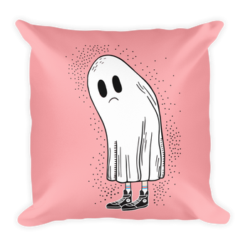 FLEETING HAPPINESS Square Pillow
