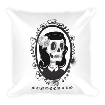 SWEET DEATH Square Pillow