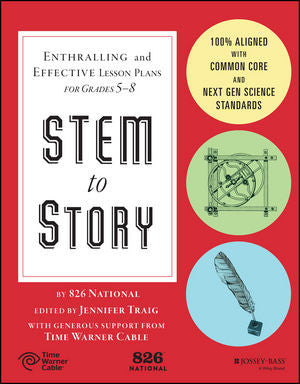 STEM to Story: Enthralling and Effective Lesson Plans for Grades 5-8 Book Cover