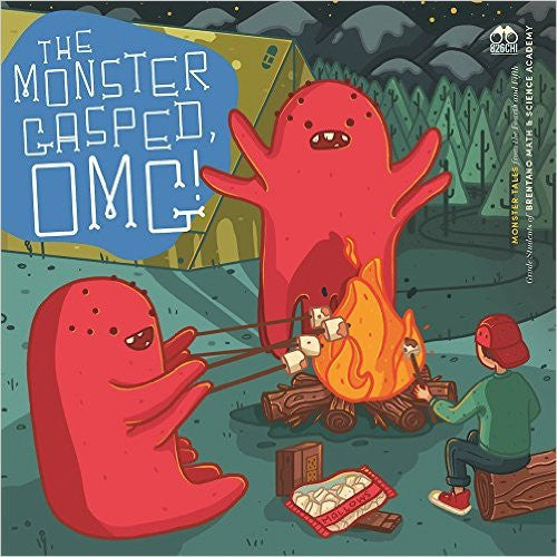 The Monster Gasped, OMG! Original Stories About Monsters, Beasts and Mythical Creatures Book Cover