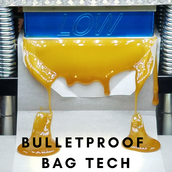 Bulletproof Bag Tech - ELIMINATE CONCENTRATE BLOWOUTS 100%!