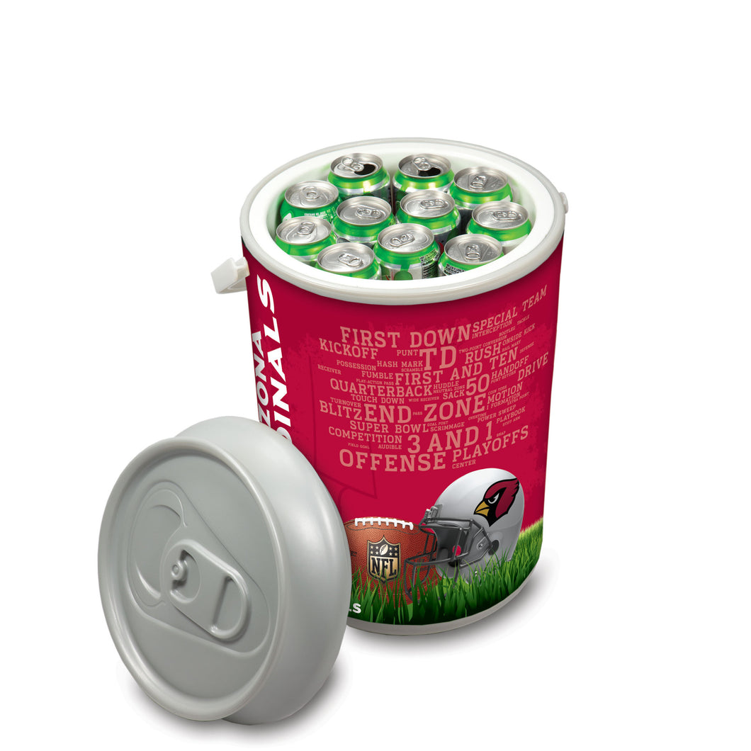 Arizona Cardinals - Mega Can Cooler (Football Design) -PASSIONFORGAME
