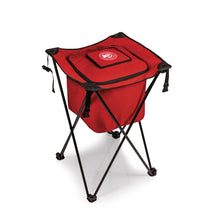 Atlanta Hawks - 'Sidekick' Portable Standing Beverage Cooler by Picnic Time (Red) -PASSIONFORGAME