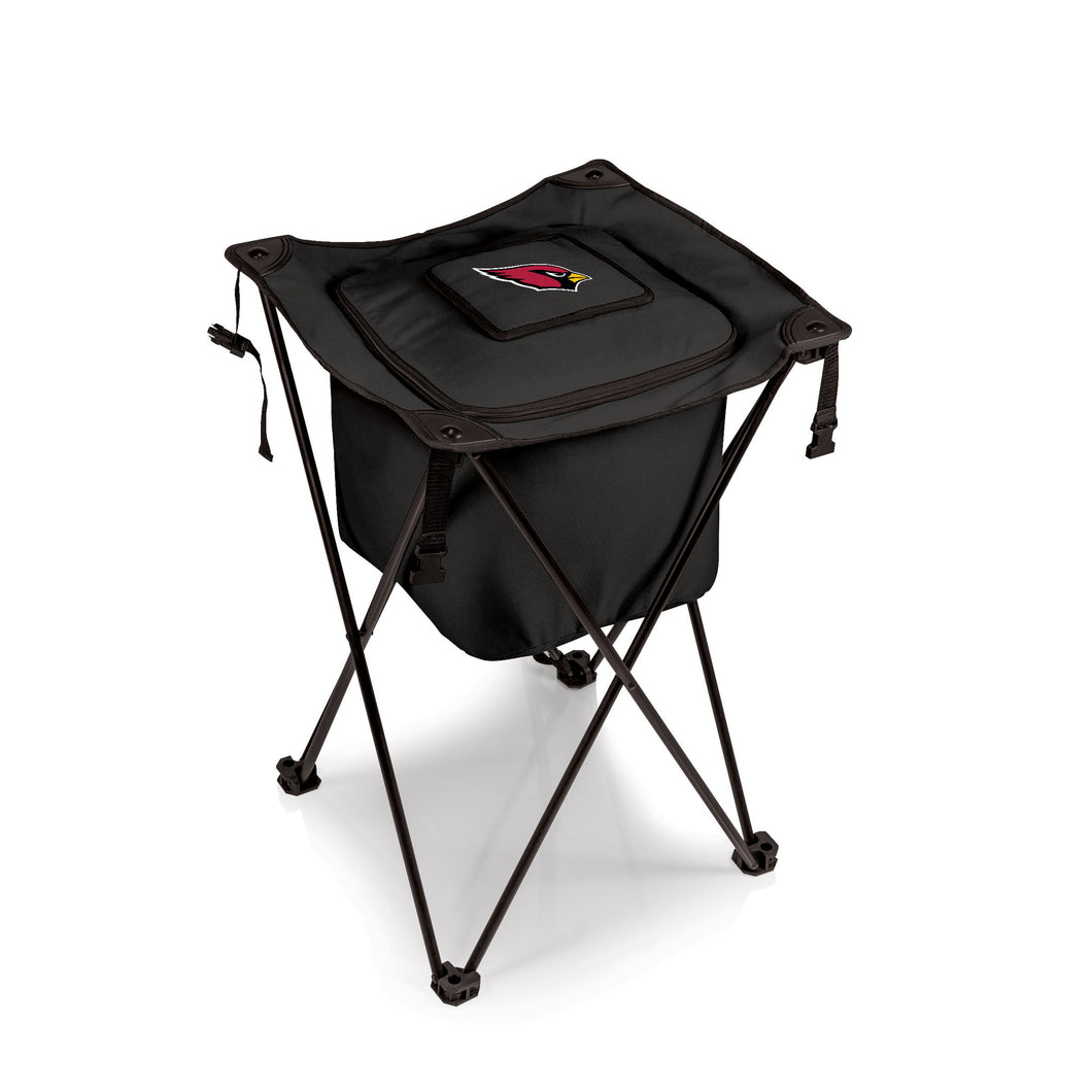 Arizona Cardinals - Sidekick Portable Standing Beverage Cooler (Black) -PASSIONFORGAME