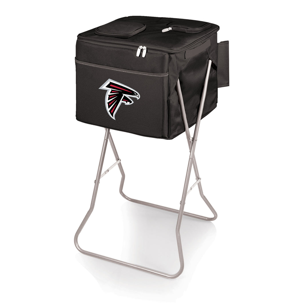 Atlanta Falcons - Party Cube Portable Standing Beverage Cooler (Black) -PASSIONFORGAME