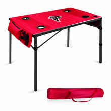 Atlanta Falcons - Travel Table Portable Folding Table (Red) -PASSIONFORGAME