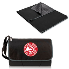 Atlanta Hawks - 'Blanket Tote' Outdoor Picnic Blanket by Picnic Time (Black) -PASSIONFORGAME