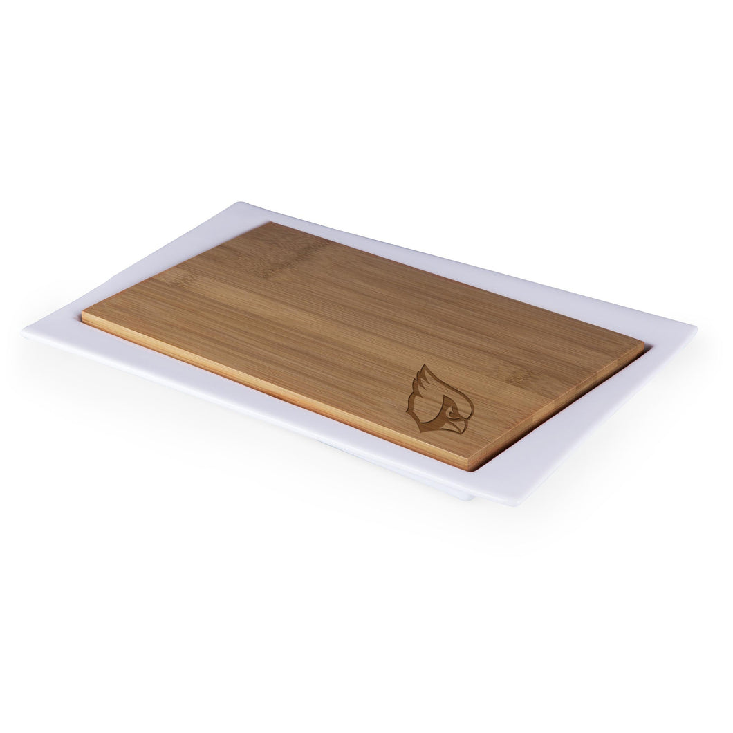 Arizona Cardinals - Enigma Cutting Board & Serving Tray (Bamboo) -PASSIONFORGAME