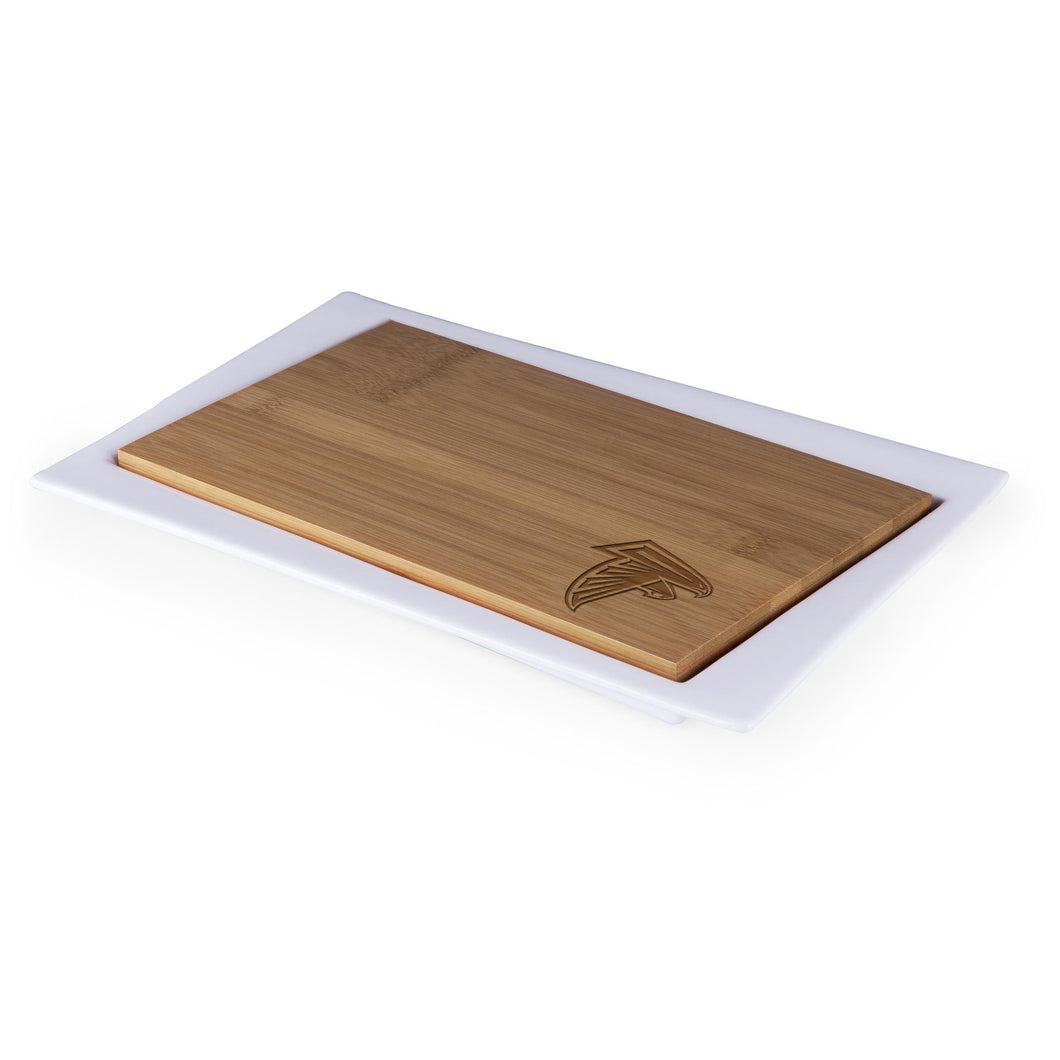 Atlanta Falcons - Enigma Cutting Board & Serving Tray (Bamboo) -PASSIONFORGAME