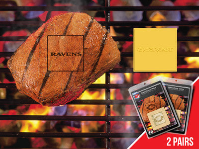 Baltimore Ravens 2 Fan Brands -PASSIONFORGAME