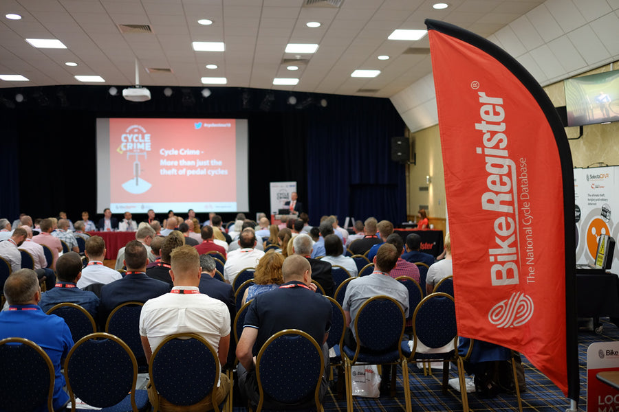Photos from the National Cycle Crime Conference 2018