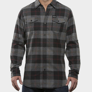 CSB Flannel Black/Steel