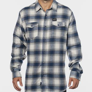 CSB Flannel Blue/Natural