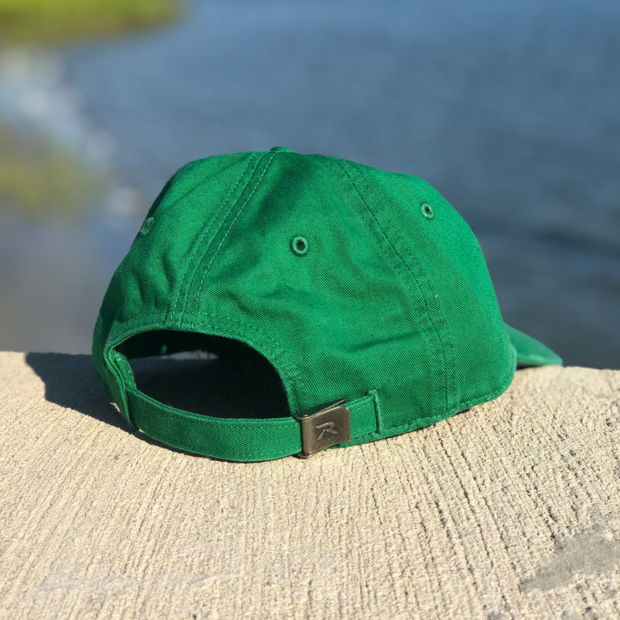 Green Trident Dad Hat