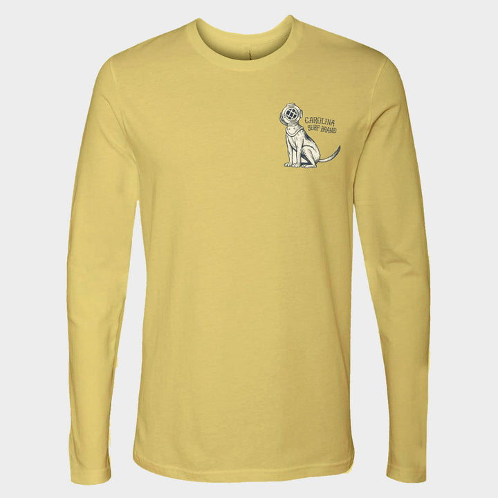 Diver Dog Long Sleeve Canary