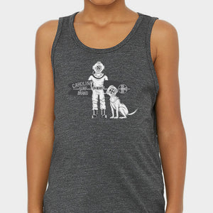 Diver Doggy Tank Grey (YOUTH)