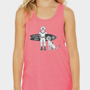 Diver Doggy Tank Pink (YOUTH)