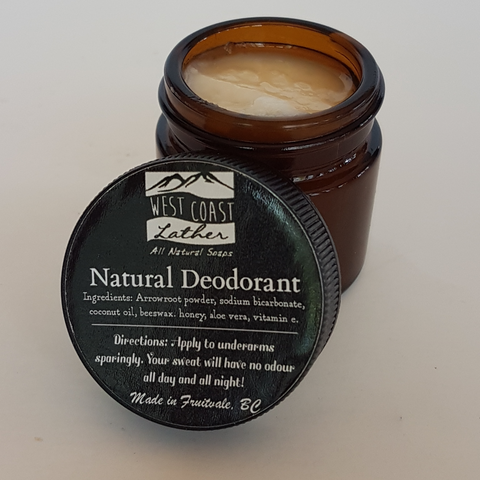 All natural 100% biodegradable deodorant balm