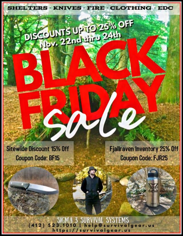 Black Friday Sale up to 25% off!