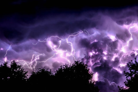 Camping Safety Tips - Plan For Dangerous Weather, Thunderstorms, and Lightning