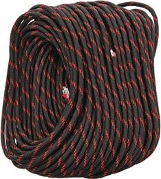 FireCord - 50ft Black/Red