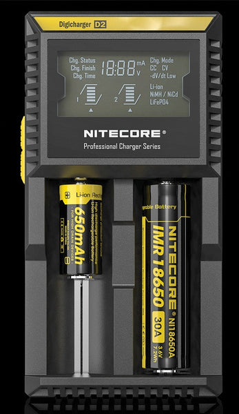 Nitecore Digicharger Battery D2