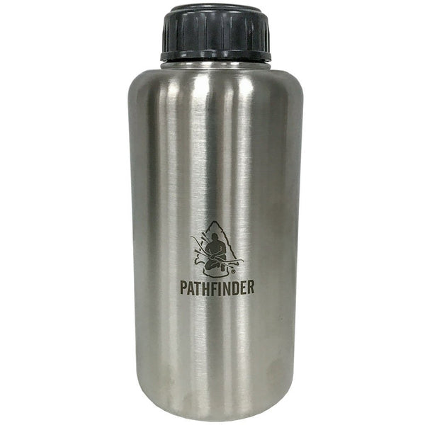 Pathfinder Stainless Steel 64oz. Wide-mouth Bottle