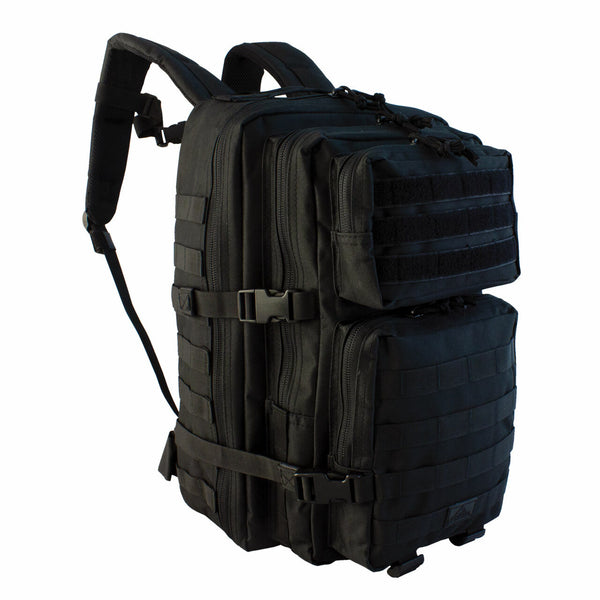 Red Rock Large Assault Pack Black