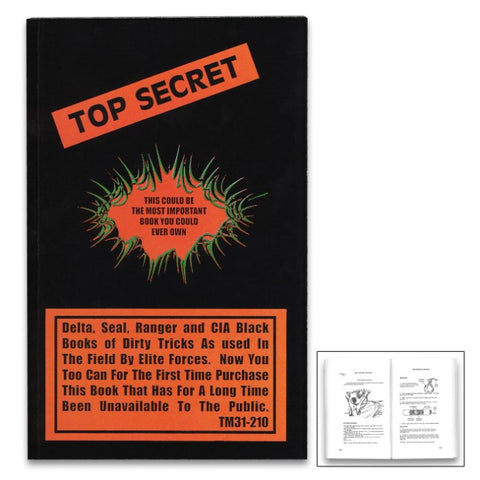Top Secret Manual - Fully Illustrated, Information Used By Elite Forces