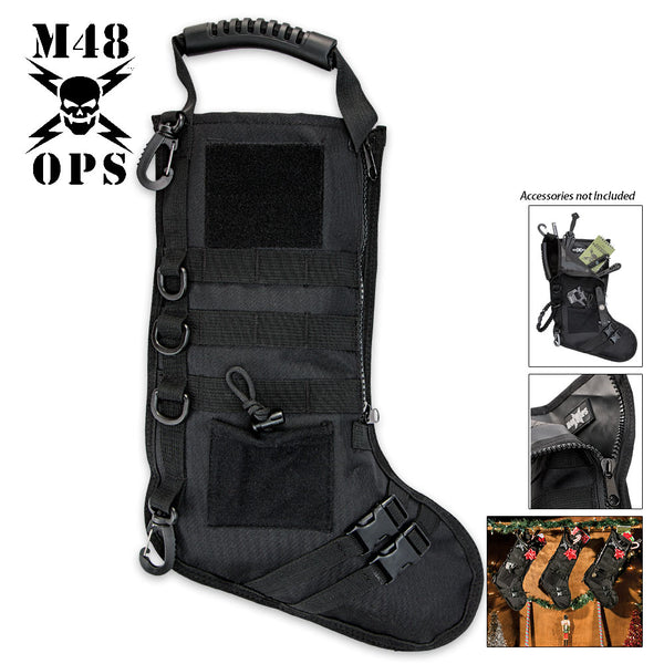 M48 Tactical Military Stocking - Black