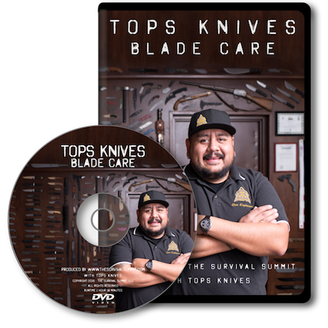 TOPS Knives Blade Care DVD & USB