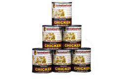 Canned Chicken Half Case - 28oz. cans (6 cans/54 servings)  FREE SHIPPING!