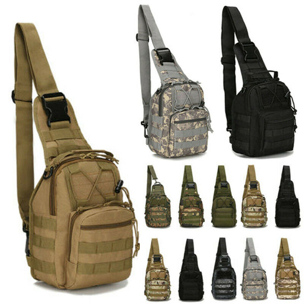 Tactical Shoulder Sling MOLLE Bag NEW COLORS!!!
