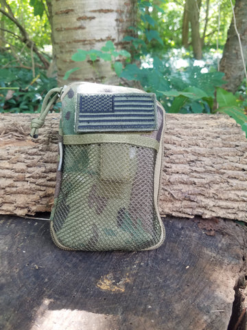Tactical Wallet Organizer - OD Green, Black, Coyote Tan