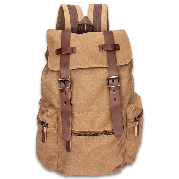Outback Traveler Canvas Rucksack