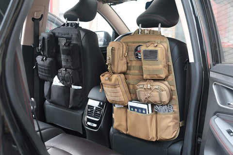Tacticool MOLLE Car Seat Organizer - Deluxe