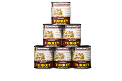 Canned Turkey Half Case - 28oz. cans (6 cans/54 servings)  FREE SHIPPING!