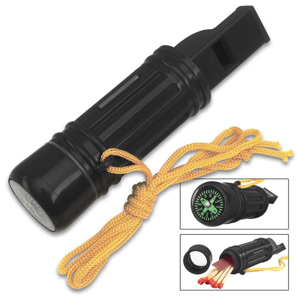 Trailblazer 5-In-1 Survival Whistle