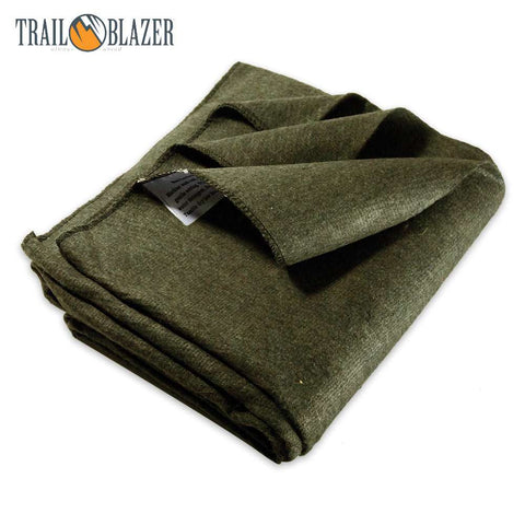 "Trailblazer 64"" x 84"" Wool Blanket"