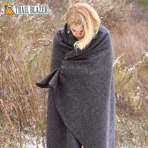 "Trailblazer 51"" x 80"" Wool Blanket"