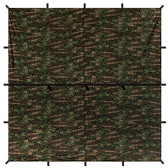 Aqua Quest Defender Square Camo Tarp 10x10 KIT