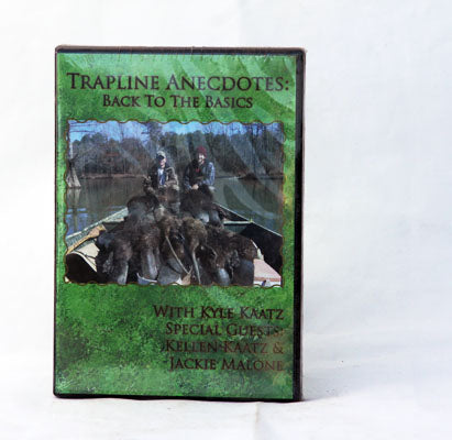 Trapline Anecdotes - Back to Basics DVD