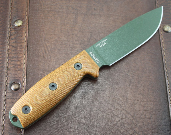 ESEE-4 OD Green Blade Natural
